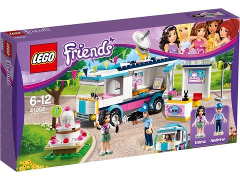 Hình ảnh thực tế vỏ hộp đựng bên ngoài Lego Friends 41056 - Xe Thông Tin Thành Phố