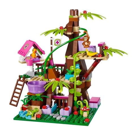 Bộ xếp hình Lego Friends 41059 - Nhà Cây Trong Rừng với nhiều mô hình vô cùng sinh động