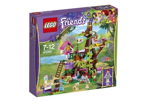 Hình ảnh bên ngoài sản phẩm Lego Friends 41059 - Nhà Cây Trong Rừng