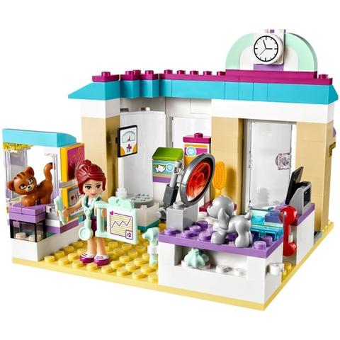 Mô hình Lego Friends 41085 - Phòng Khám Thú Cưng hiện đại và sang trọng với đầy đủ trang bị