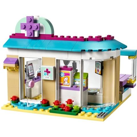 Bộ xếp hình Lego Friends 41085 - Phòng Khám Thú Cưng cho bé vui chơi an toàn