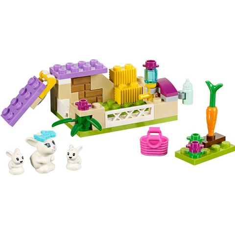 Toàn bộ các mô hình có trong bộ sản phẩm Lego Friends 41087 - Thỏ Mẹ Bunny Và Thỏ Con