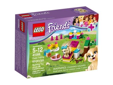 Hình ảnh vỏ hộp đựng sản phẩm Lego Friends 41088 - Huấn Luyện Chó Con