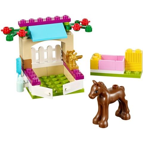 Toàn bộ các mô hình mà bé sẽ có được sau khi lắp ráp xong bộ xếp hình Lego Friends 41089 - Ngựa Con