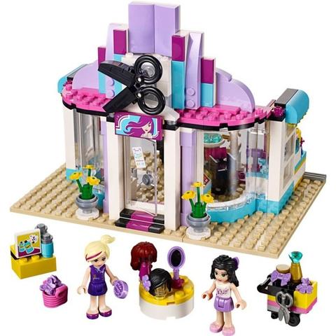 Trọn bộ các mô hình trong sản phẩm Lego Friends 41093 - Tiệm Chăm Sóc Tóc Heartlake