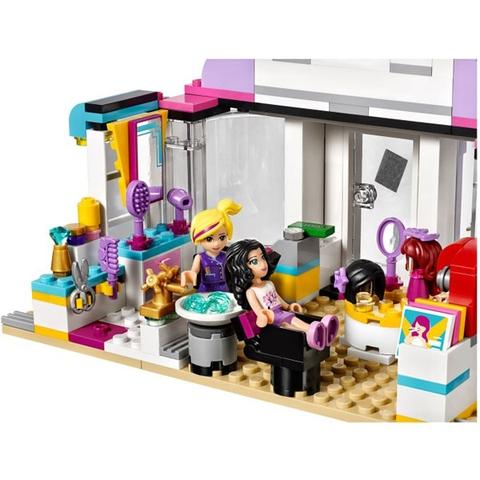 Bộ xếp hình Lego Friends 41093 - Tiệm Chăm Sóc Tóc Heartlake với chủ đề được nhiều bé yêu thích
