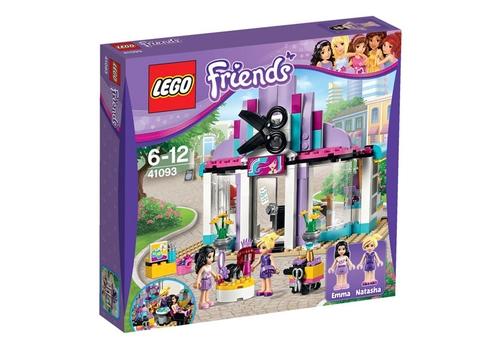 Hình ảnh hộp đựng thực tế sản phẩm Lego Friends 41093 - Tiệm Chăm Sóc Tóc Heartlake