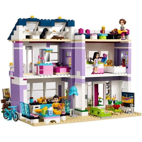 Bộ xếp hình Lego Friends 41095 với Ngôi Nhà Của Emma độc đáo
