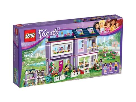 Hình ảnh vỏ hộp đựng sản phẩm Lego Friends 41095 - Ngôi Nhà Của Emma