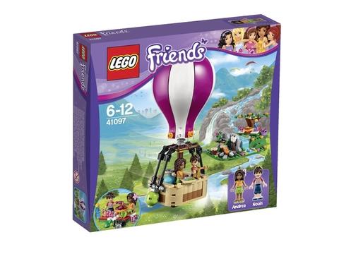 Vỏ hộp thực tế sản phẩm Lego Friends 41097 - Heartlake Hot Air Balloon