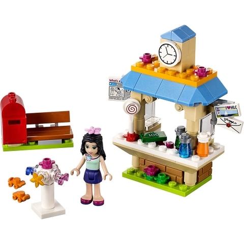 Lego Friends 41098 - Quầy Thông Tin Du Lịch của Emma - bộ đồ chơi nổi bật