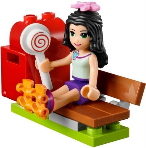 Lego Friends 41098 - Quầy Thông Tin Du Lịch của Emma - nhân vật chính xinh xắn