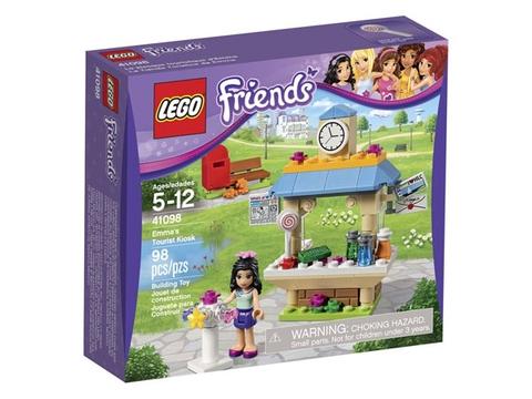 Lego Friends 41098 - Quầy Thông Tin Du Lịch của Emma - ảnh bìa sản phẩm