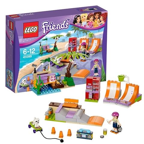 Bộ đồ chơi ghép hình Lego Friends 41099 - Công Viên Trượt Ván Heartlake