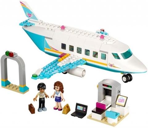 Trọn bộ chi tiết có trong bộ xếp hình Lego Friends 41100 - Chuyên Cơ Heartlake Private Jet