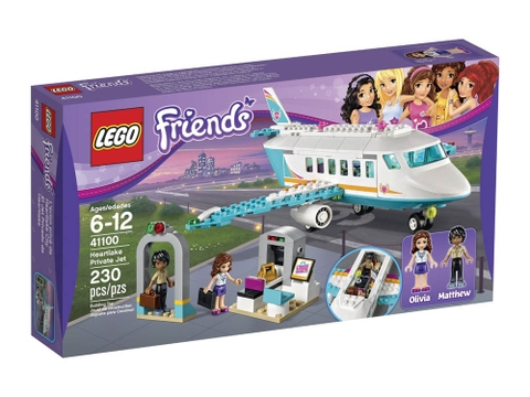 Hình ảnh vỏ hộp đựng Lego Friends 41100 - Chuyên Cơ Heartlake Private Jet