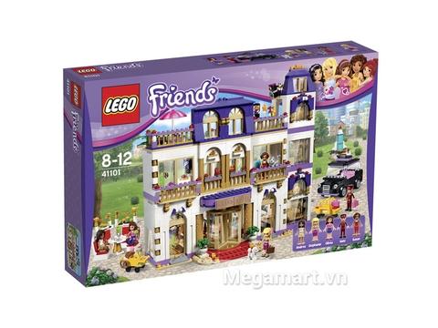 Hình ảnh bộ ghép hình Lego Friends 41101 - Khách sạn 5 sao Heartlake