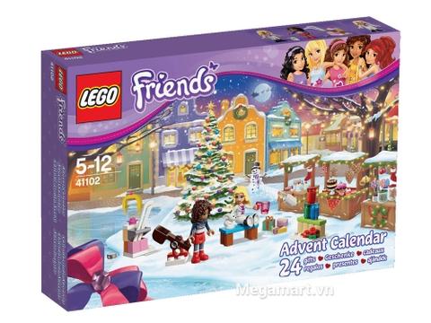 Hình ảnh vỏ ngoài sản phẩm Lego Friends 41102 - Bộ Lịch Lego Friends 2015