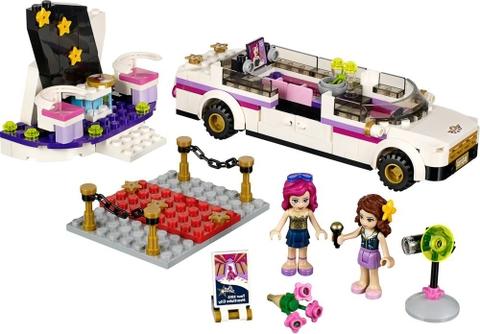 Trọn bộ các mô hình trong bộ xếp hình Lego Friends 41107 - Xe Limo Ngôi Sao Ca Nhạc