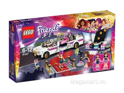 Hình ảnh bên ngoài sản phẩm Lego Friends 41107 - Xe Limo Ngôi Sao Ca Nhạc