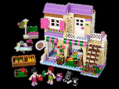 Lego Friends 41108 - Cửa Hàng Thực Phẩm Heartlake - toàn bộ chi tiết trong sản phẩm