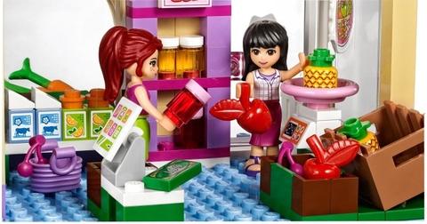 Lego Friends 41108 - Cửa Hàng Thực Phẩm Heartlake - 2 người bạn nhỏ