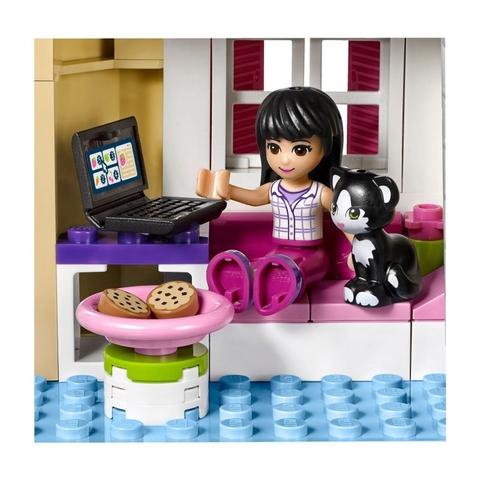 Lego Friends 41108 - Cửa Hàng Thực Phẩm Heartlake - cô bạn Maya bên chú mèo cưng
