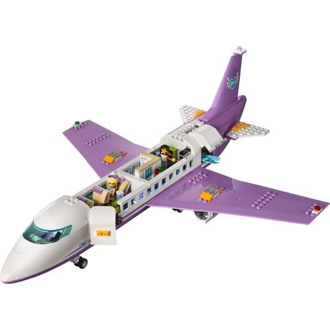 Chuyên cơ trong Lego Friends 41109 - Sân Bay Heartlake với những mô phỏng sát thực, giúp các bé hiểu hơn về ngành hàng không