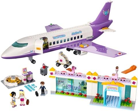 Trọn bộ các chi tiết trong Lego Friends 41109 - Sân Bay Heartlake. Các bé hãy cùng khám phá hãng hàng không Heartlake Airlines với những phi công và tiếp viên chuyên nghiệp nhất nhé
