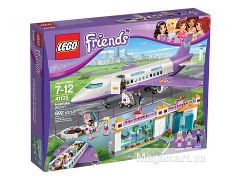Hình ảnh bên ngoài sản phẩm Lego Friends 41109 - Sân Bay Heartlake