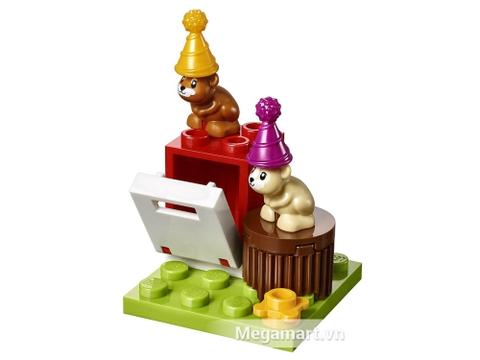 Bộ đồ chơi Lego Friends 41111 - Bữa tiệc tàu hỏa cho bé thỏa sức sáng tạo