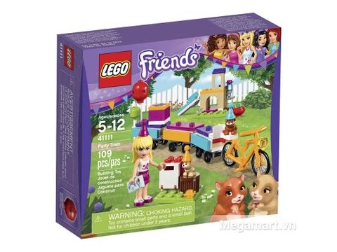 Hình ảnh hộp đựng sản phẩm Lego Friends 41111 - Bữa tiệc tàu hỏa