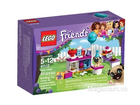 Bộ ghép hình Lego Friends 41112 - Buổi Tiệc Bánh Ngọt raais thích hợp cho cá bé gái từ 5 đến 12 tuổi