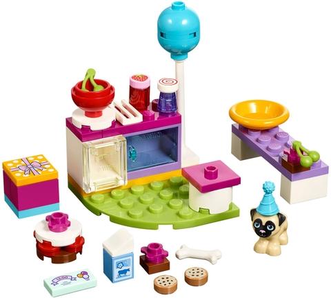 Bộ đồ chơi ghép hình Lego Friends 41112 - Buổi tiệc bánh ngọt độc đáo mô phỏng đầy đủ