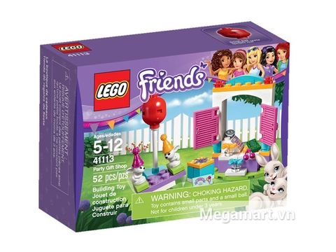 Bộ xếp hinh Lego Friends 41113 - Buổi Tiệc Quà Tặng hấp dẫn thích hợp cho các bé gái từ 5 đến 12 tuổi