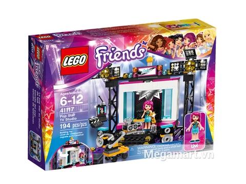 Thông tin chung bộ  Lego Friends 41117 - Trường Quay Ngôi Sao