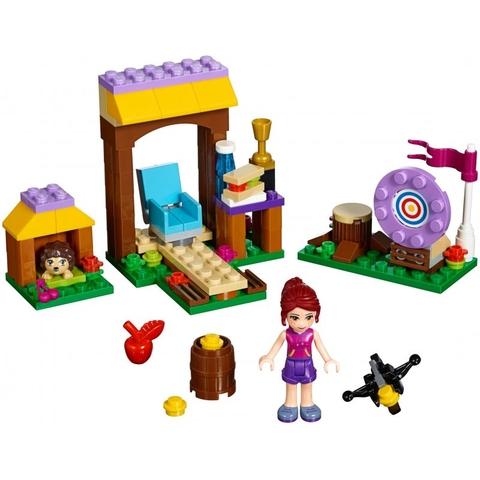 Trọn bộ các chi tiết trong bộ xếp hình Lego Friends 41120 - Trường Bắn Cung Tên