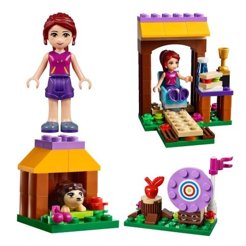 Bộ xếp hình bổ ích Lego Friends 41120 - Trường Bắn Cung Tên