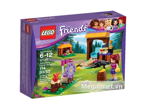 Hình ảnh bên ngoài sản phẩm Lego Friends 41120 - Trường Bắn Cung Tên