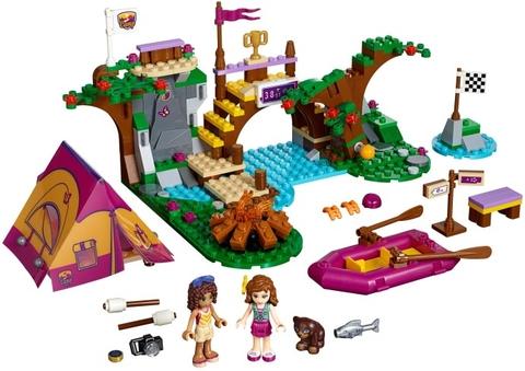 Trọn bộ các chi tiết có trong Lego Friends 41121 - Xuồng Dã Ngoại