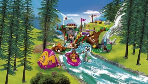 Bộ đồ chơi Lego Friends 41121 - Xuồng Dã Ngoại cho bé trải nghiệm chuyến dã ngoại đầy lý thú