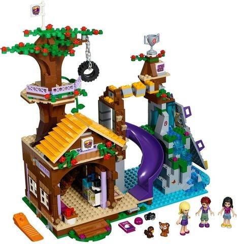 Lego Friends41122- Nhà Cắm Trại Trên Cây - mô hình và các chi tiết