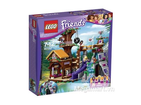 Ảnh bìa sản phẩm Lego Friends41122- Nhà Cắm Trại Trên Cây