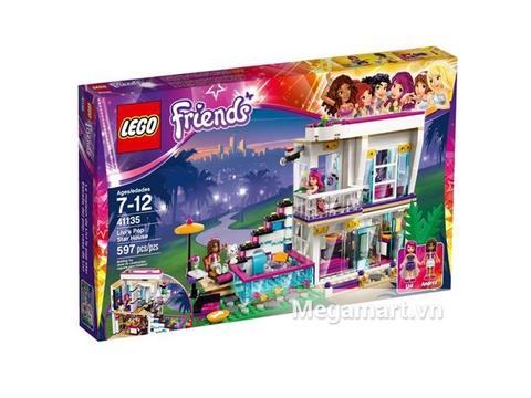 Ảnh bìa sản phẩm Lego Friends 41135 - Biệt Thự Của Livi
