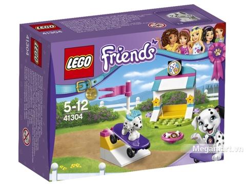 Hình ảnh vỏ hộp bộ Lego Friends 41304 - Huấn luyện thú cưng