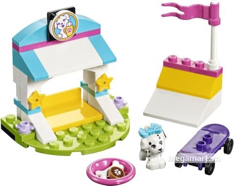 Các mô hình ấn tượng trong bộ Lego Friends 41304 - Huấn luyện thú cưng