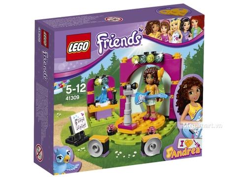 Hình ảnh vỏ hộp bộ Lego Friends 41309 - Buổi ca nhạc hòa tấu của Andrea