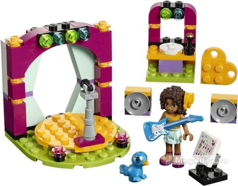 Các mô hình ấn tượng trong bộ Lego Friends 41309 - Buổi ca nhạc hòa tấu của Andrea