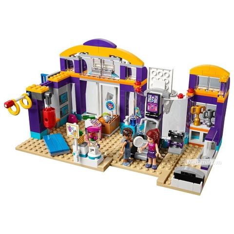 Lego Friends 41312 - Trung tâm thể thao Heartlake - Toàn bộ các chi tiết của trung tâm thể thao