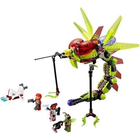 Trọn bộ các chi tiết có trong Lego Galaxy 70702 - Muỗi Khổng Lồ